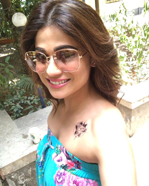 WHOA! Shamita Shetty gets inked, albeit for a role in The Tenant