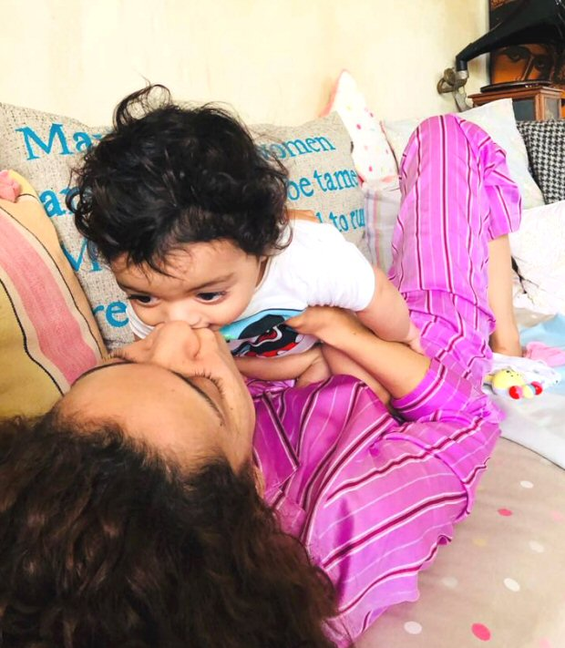 We can't get over this CUTE picture of Kangana Ranaut kissing her nephew Prithvi Raj