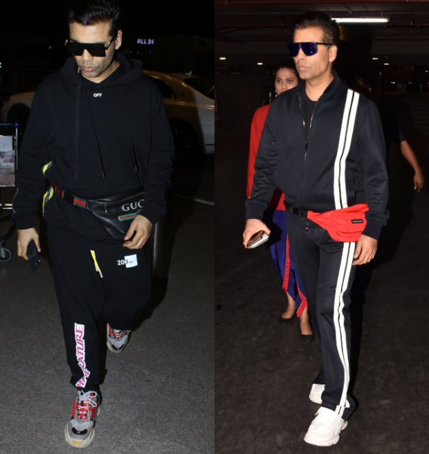 Weekly Celebrity Airport Style - Karan Johar