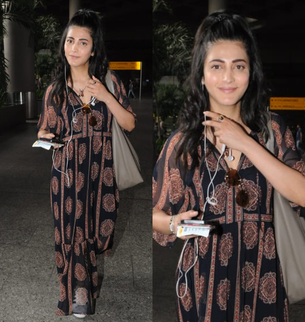 Weekly Celebrity Airport Style - Shruti Haasan