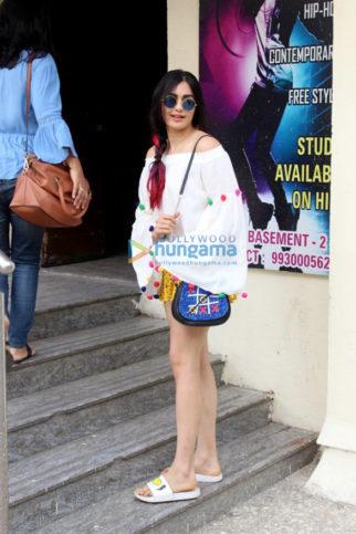 Adah Sharma spotted at PVR Juhu