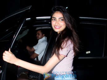 Athiya Shetty snapped at The Korner House in Bandra