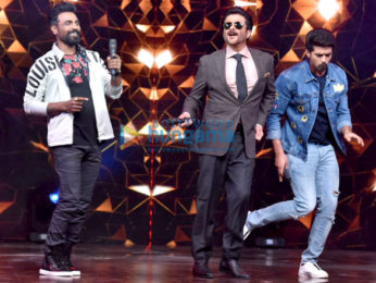 Cast of Race 3 snapped on sets of Dance India Dance Li'l Master