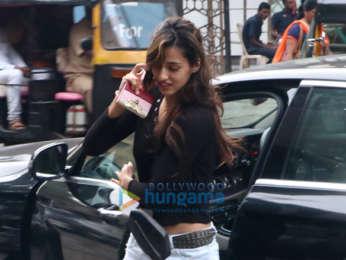 Disha Patani snapped post a salon session in Bandra