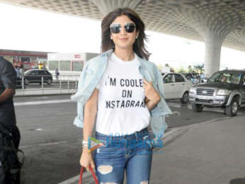 Evelyn Sharma, Shilpa Shetty and others snapped at the airport