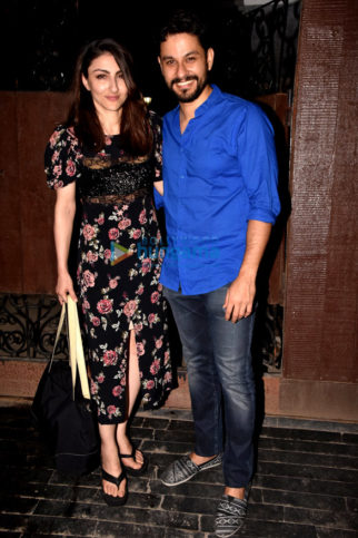 Karan Johar, Dia Mirza, Soha Ali Khan and others celebs attend a dinner party at Neha Dhupia's house