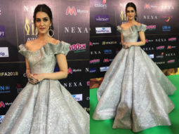 Kriti Sanon IIFA 2018 green carpet