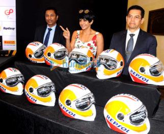 Mandira Bedi graces the Top Gear event