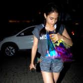Sara Ali Khan snapped post gym session in Bandra