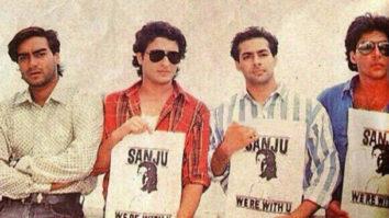 When Salman Khan, Saif Ali Khan, Akshay Kumar came together to promote Sanju in 1993