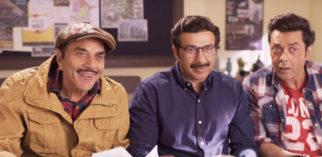 Yamla Pagla Deewana Phir Se Punjabi mundas Dharmendra, Sunny and Bobby Deol TURN Gujaratis and a glimpse of it can be seen in the teaser!