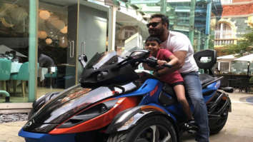 Ajay Devgn and his son Yug Devgn are 'Biker Boys' in London