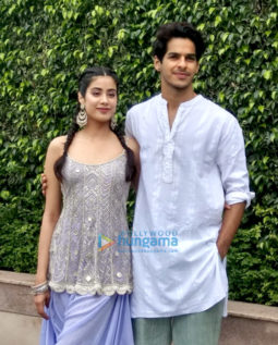 Ishaan Khatter and Janhvi Kapoor promote 'Dhadak' in Chandigarh
