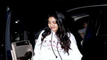 Janhvi Kapoor and Arjun Kapoor spotted at Sonam Kapoor's house in Juhu