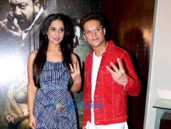 Jimmy Sheirgill and Mahie Gill promote Saheb Biwi Aur Gangster 3 at Sun N Sand in Juhu