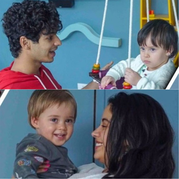 Karan Johar's son Yash smiles adorably at Janhvi Kapoor, Roohi throws a serious shade on Ishaan Khatter at Dhadak promotions