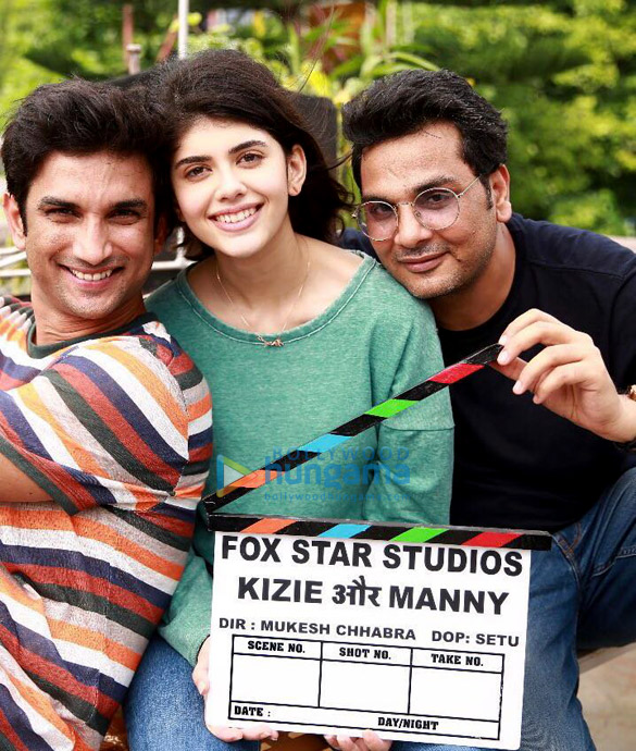 The Fault In Our Stars remake: Here's the FIRST glimpse of Sushant Singh Rajput and Sanjana Sanghi from the sets of Kizie Aur Manny