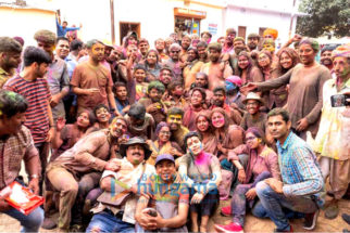 On The Sets Of The Movie Pataakha