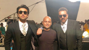 On The Sets Of The Movie Sanju