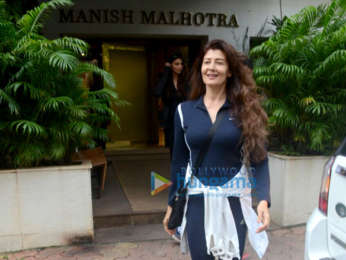 Nushrat Bharucha, Daisy Shah, Sophie Choudry and others snapped at Manish Malhotra's store