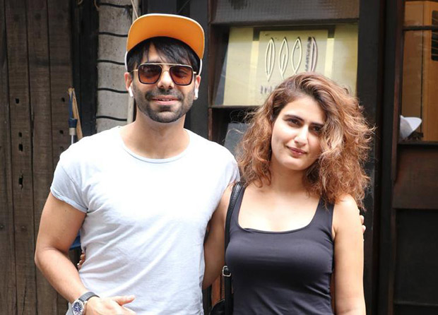 Aparshakti Khurrana REACTS to the link up rumours with Dangal co-star Fatima Sana Shaikh