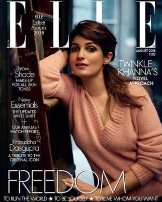 Twinkle Khanna On The Cover Of Elle
