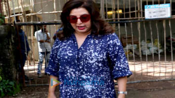 Farah Khan and Shweta Nanda snapped at Kromakay salon in Juhu