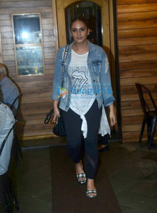 Huma Qureshi and Mrunal Thakur snapped at Farmers' Cafe in Bandra