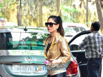Kareena Kapoor Khan snapped at the gym in Bandra