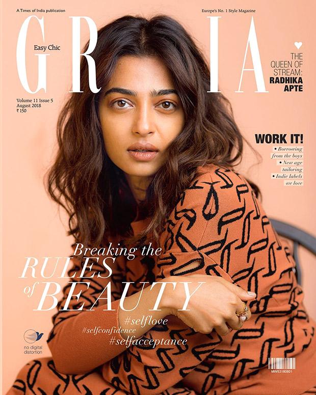 Radhika Apte for Grazia