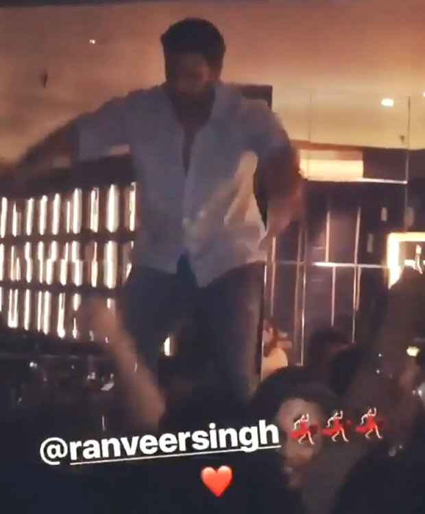 Ranveer Singh's spirited performance with Deepika Padukone at his sister's birthday will drive your Monday blues away (watch Leaked videos)