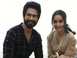 SPOTTED Shahid Kapoor and Shraddha Kapoor promoting their film Batti Gul Meter Chalu