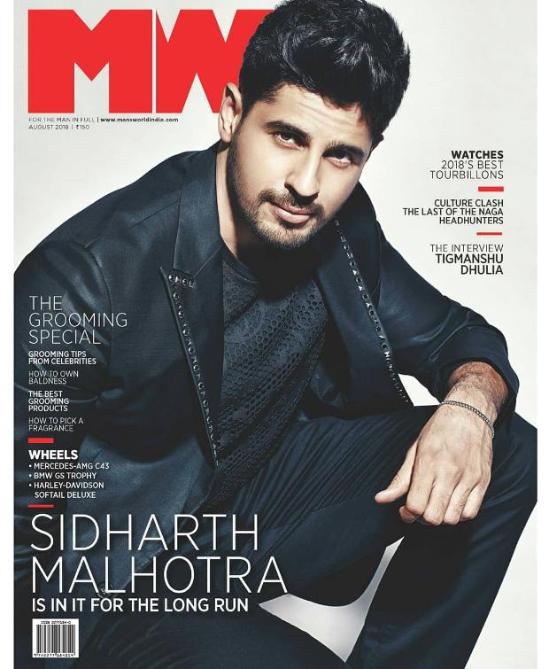 Sidharth Malhotra for Man's World 4