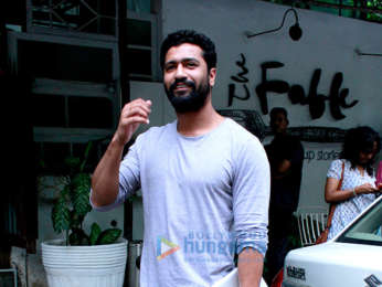 Vicky Kaushal spotted at Fable in Juhu