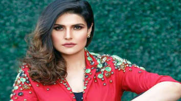 Zareen Khan supports an initiative for public hygiene