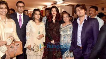 Aishwarya Rai Bachchan, Sonu Nigam and Ronit Roy grace the IMC Ladies Exhibition
