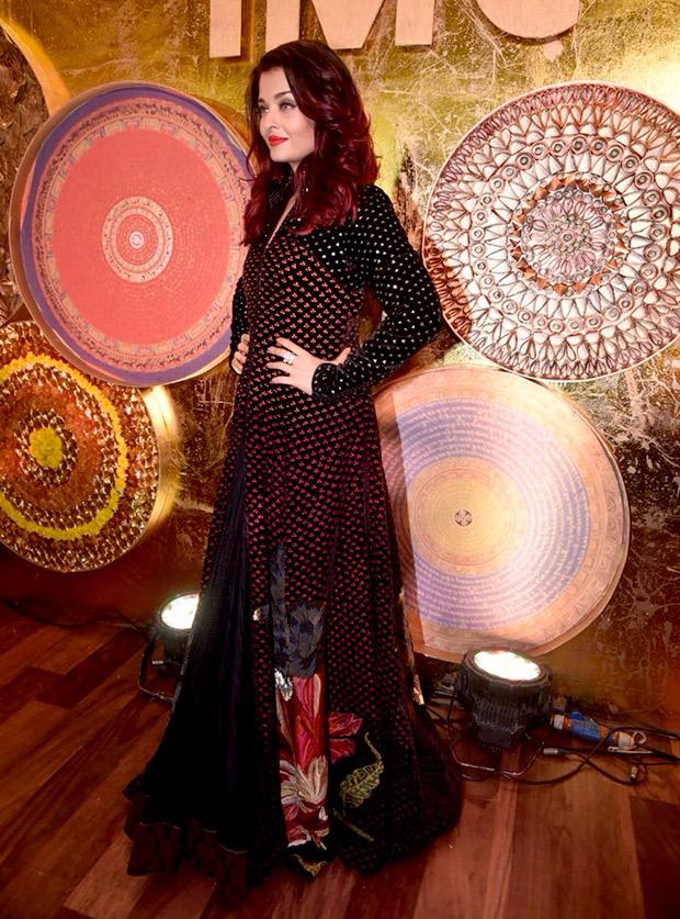 Aishwarya Rai Bachchan in Rohit Bal Couture for IMC Ladies event (3)