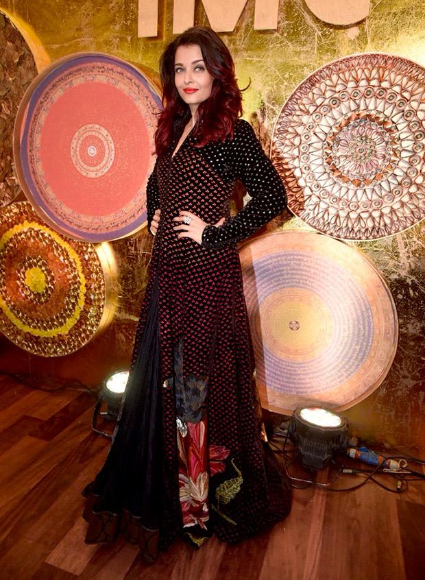 Aishwarya Rai Bachchan in Rohit Bal Couture for IMC Ladies event (4)