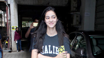 Ananya Pandey snapped after dance class in Andheri Exclusive