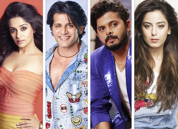 Image result for bigg boss season 12 Deepika Kakar, Anup Jalota, Karanvir Bohra, S.Sareesanth and Shristy Rode