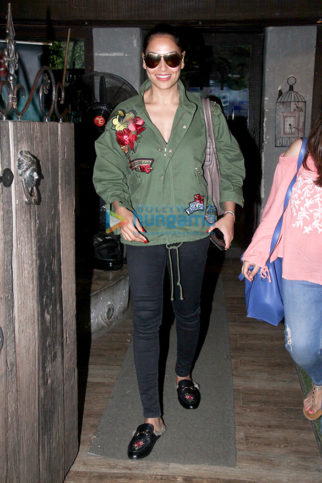 Bipasha Basu spotted at Hakim's Aalim Salon in Bandra