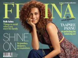 Taapsee Pannu On The Cover Of Femina