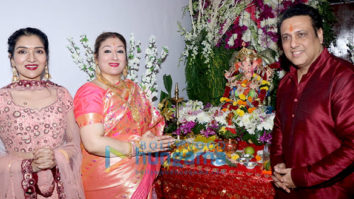 Govinda & Family Ganpati Celebration at Home