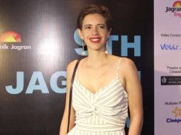 Kalki Koechlin attends 9th Jagran Film Festival 2018