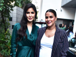 Katrina Kaif and Neha Dhupia spotted before the shoot of No Filter Neha Season 3