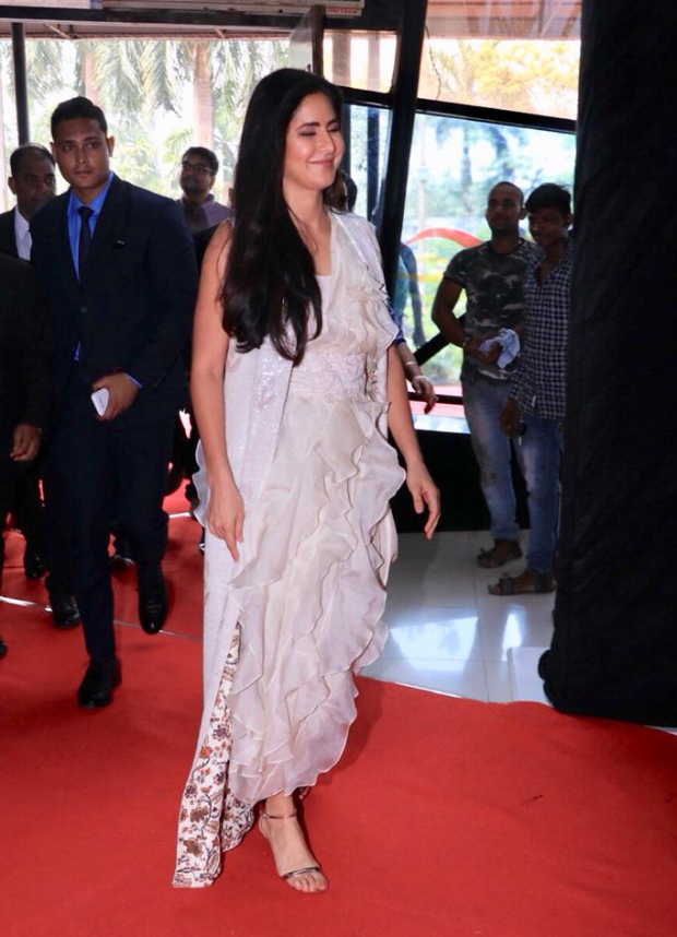 Katrina Kaif in Anamika Khanna for Thugs Of Hindostan trailer launch