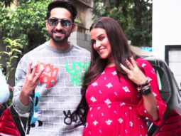 Neha Dhupia & Ayushmann Khurrana SPOTTED shooting for #NoFilterNeha Season 3