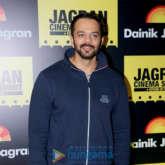 Rohit Shetty snapped at Jagran Cinema Summit at Taj, Santacruz