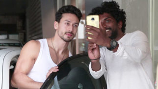 SPOTTED Tiger Shroff at his dance class in Andheri