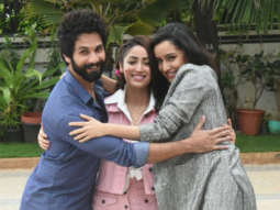 Shahid Kapoor, Shraddha & Yami SPOTTED during Batti Gul Meter Chalu promotions